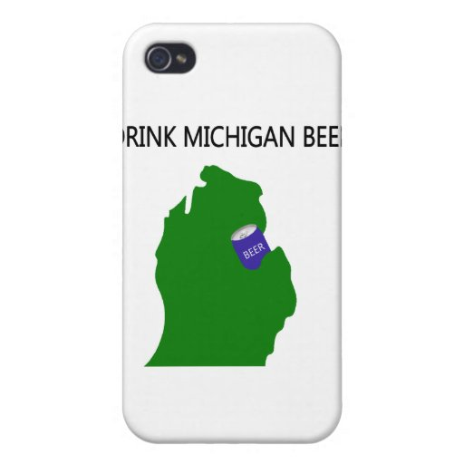 Michigan Beer Cases For iPhone 4