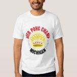 Michigan Beer Pong Champ T-Shirt