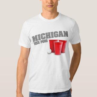 Michigan Beer Pong T-Shirt
