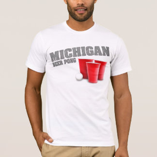 Michigan Beer Pong T-Shirt