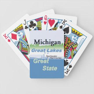MICHIGAN BICYCLE PLAYING CARDS