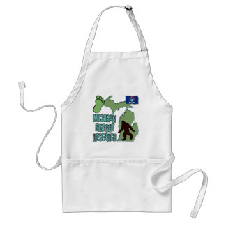 Michigan Bigfoot Research Adult Apron
