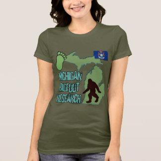 Michigan Bigfoot Research T-Shirt