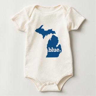 MICHIGAN BLUE STATE BABY BODYSUIT