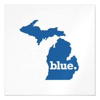 MICHIGAN BLUE STATE MAGNETIC CARD