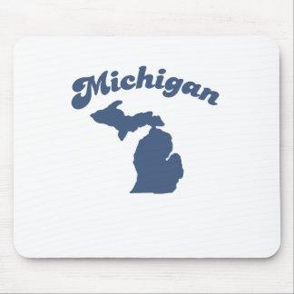 MICHIGAN Blue State Mousepads