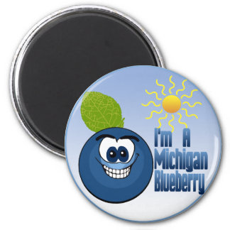 Michigan Blueberry Magnet