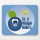 Michigan Blueberry Mouse Pad