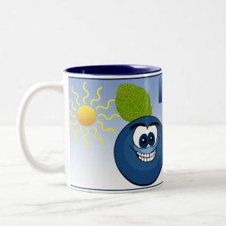 Michigan Blueberry Two-Tone Coffee Mug