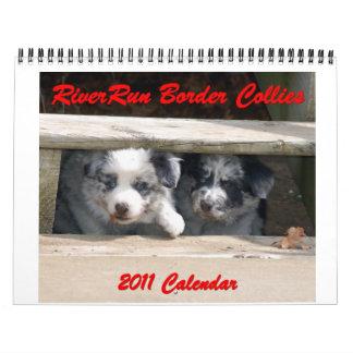 Michigan Border Collies 2012 Calendar