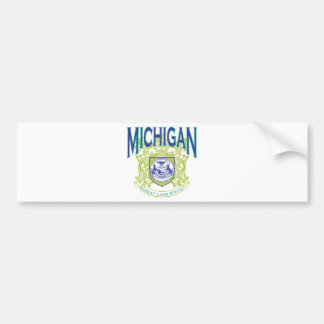 Michigan Car Bumper Sticker
