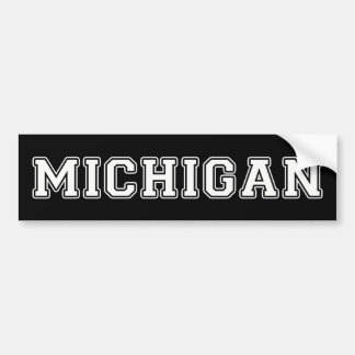 Michigan Bumper Sticker