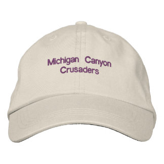 Michigan Canyon Crusaders Embroidered Hat