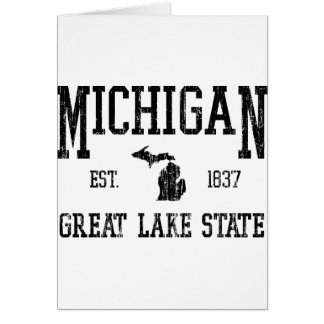 Michigan Card