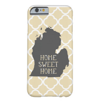 Michigan casero dulce casero funda de iPhone 6 barely there