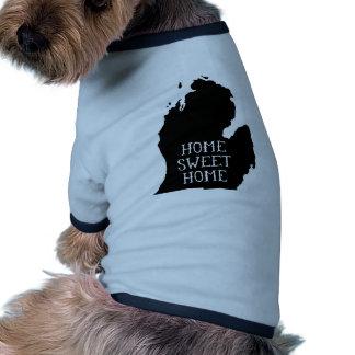 Michigan casero dulce casero camisa de perrito