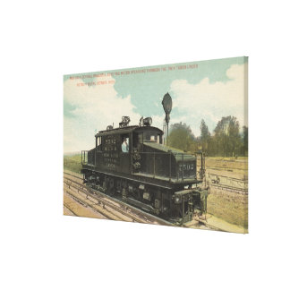 Michigan Central Electric Motor Engine Canvas Print