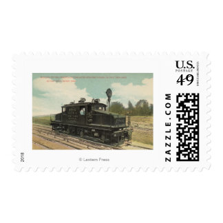 Michigan Central Electric Motor Engine Postage Stamp