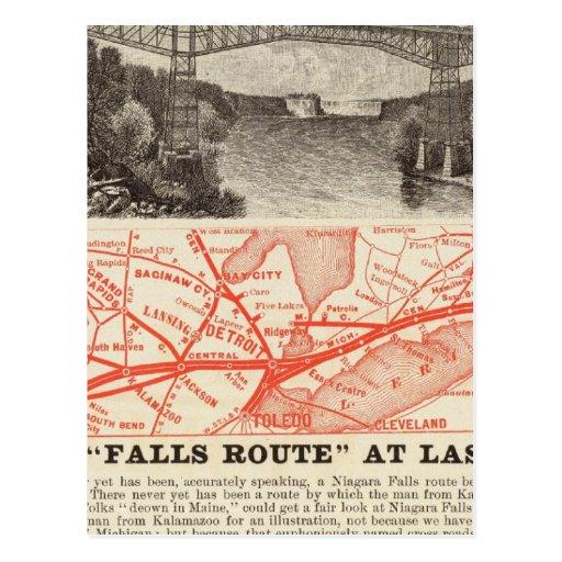 Michigan Central Railroad Postcard