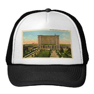 Michigan Central Station Detroit, Michigan Mesh Hats