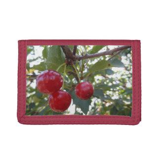 Michigan Cherries Tri-fold Wallet
