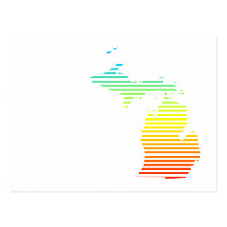 michigan chill fade postcard