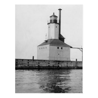 Michigan City East Lighthouse Postcard