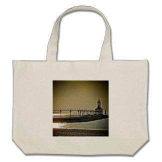 Michigan City Indiana Lighthouse Bags