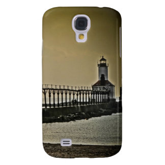 Michigan City Indiana Lighthouse Galaxy S4 Cover