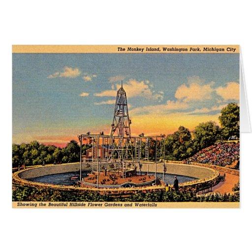 Michigan City Indiana Washington Park Zoo Cards Zazzle
