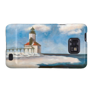 Michigan City Lighthouse Samsung Galaxy Case Galaxy SII Cases