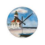 Michigan City Lighthouse Wall Clock