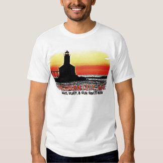 Michigan City Retro T-shirts