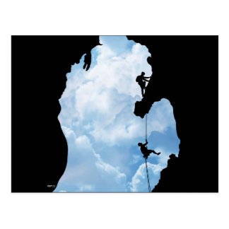Michigan Climbers Postcard