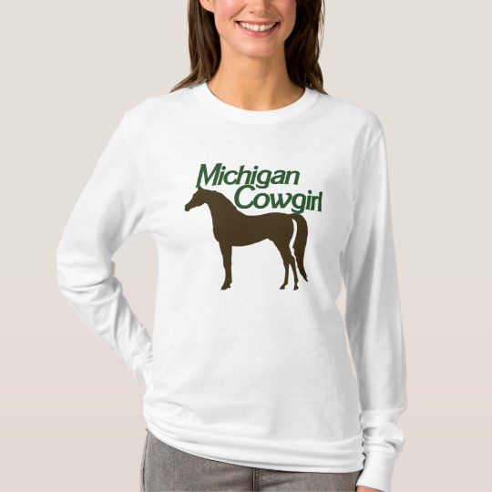 Michigan Cowgirl T-Shirt