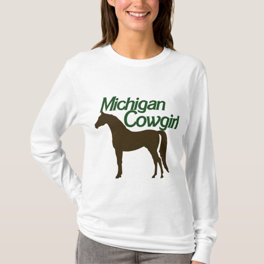 Michigan Cowgirl T-Shirt