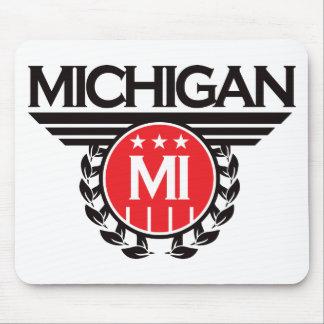 Michigan Crest Design Mouse Pad