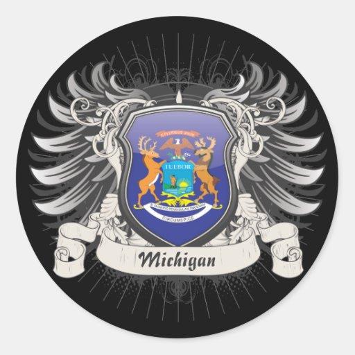 Michigan Crest Sticker
