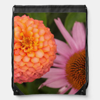Michigan, Dearborn, Greenfield Village. Peach Drawstring Bag
