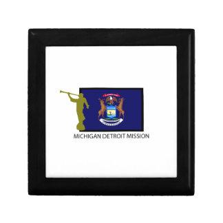 MICHIGAN DETROIT MISSION LDS CTR GIFT BOX