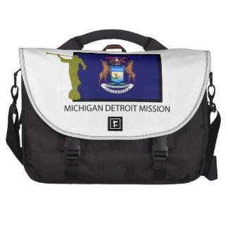 MICHIGAN DETROIT MISSION LDS CTR LAPTOP COMMUTER BAG