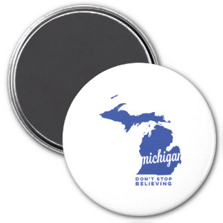 michigan | don't stop believing | blue magnet