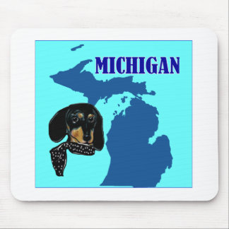 MICHIGAN DOXIE MOUSE PAD