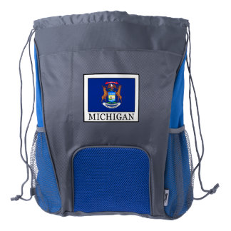 Michigan Drawstring Backpack