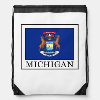 Michigan Drawstring Backpack