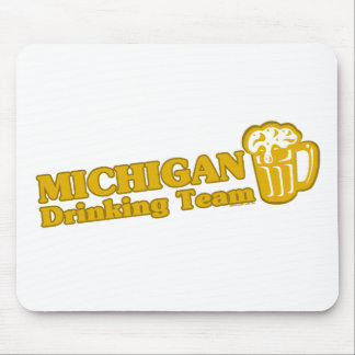 Michigan Drinking Team t shirts Mouse Pad