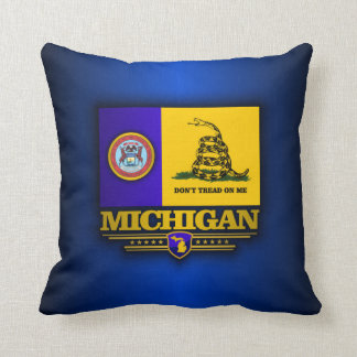 Michigan (DTOM) Throw Pillow
