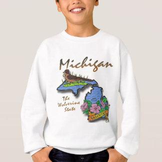 Michigan el petirrojo Apple del estado de Sudadera
