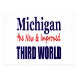 Michigan el TERCER MUNDO nuevo y mejorado Postales