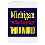 Michigan el TERCER MUNDO nuevo y mejorado Tarjeton